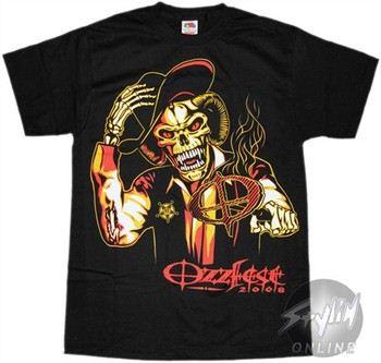 Ozzy Osbourne Ozzfest 2008 T-Shirt