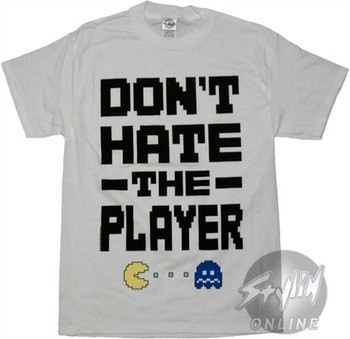 Pacman Don?t Hate The Player T-Shirt