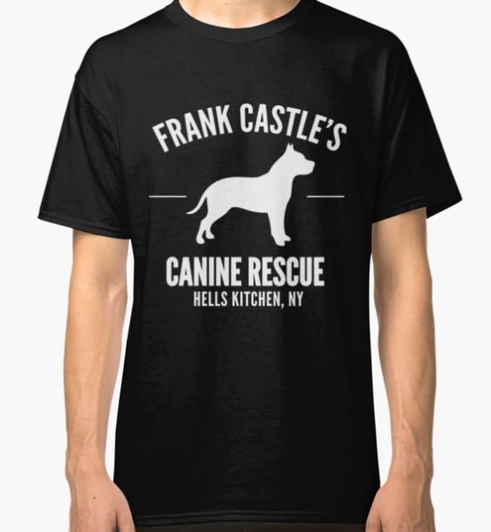 Frank Castle - Dog Rescue Classic T-Shirt by mayajade T-Shirt