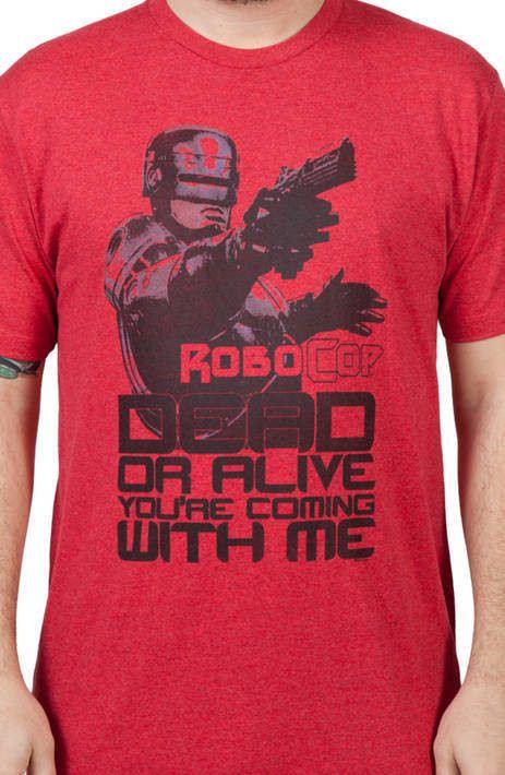 Dead or Alive Robocop Shirt