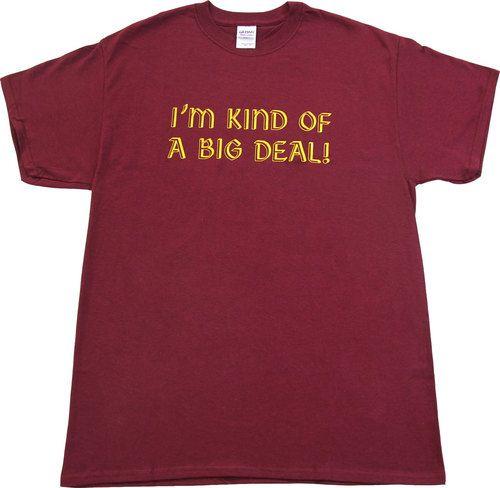 Anchorman I'm Kind of A Big Deal T-shirt