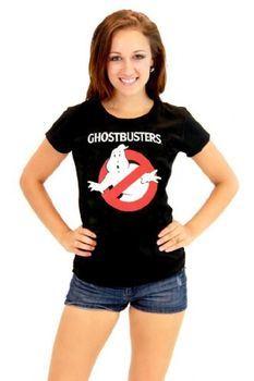 Ghostbusters Vintage Logo Junior's Tee