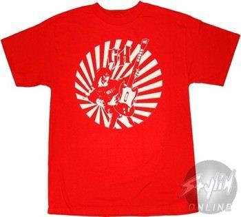 Guitar Hero Rockstar Circle T-Shirt