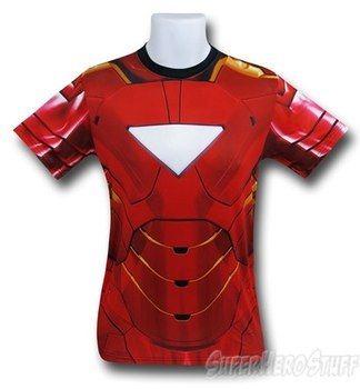 Iron Man Sublimated Athletic Costume T-Shirt