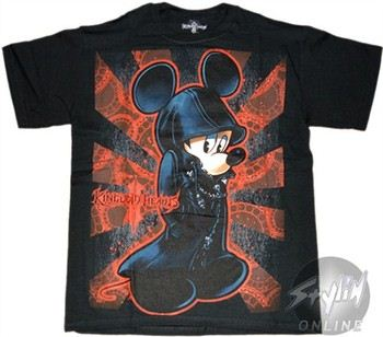 Disney Kingdom Hearts Mickey Mouse T-Shirt