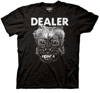 The Hangover II Monkey Dealer Black Adult T-shirt
