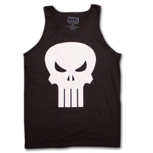 Punisher Movie Skull Logo Tank Top Sleeveless Shirt