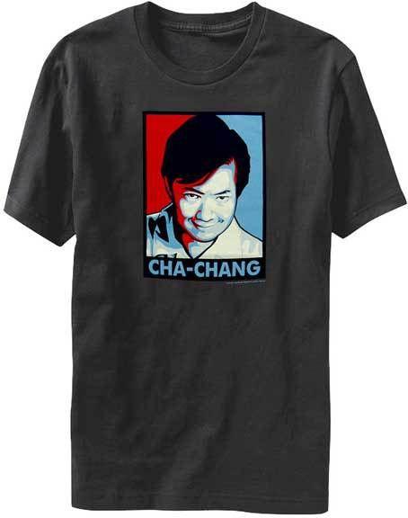 Community Cha-Chang Charcoal Mens T-shirt