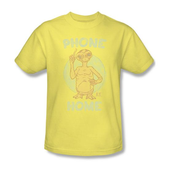 ET Shirts - Extra Terrestrial Shirt Phone Adult Banana Tee T-Shirt