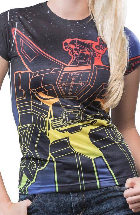 Ladies Space Voltron Shirt