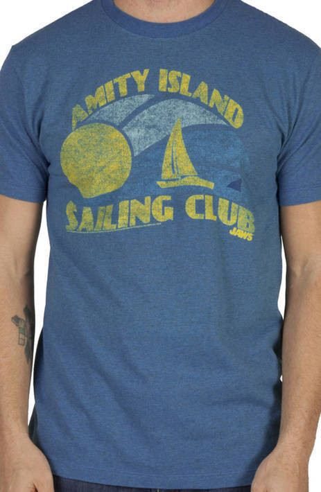 Amity Island Sailing Club Shirt