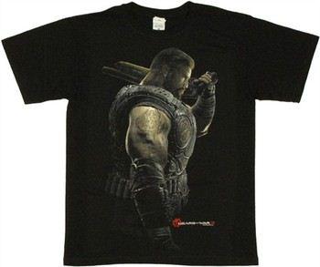 Gears of War 3 Dominic Santiago Portrait T-Shirt