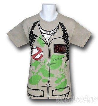Ghostbusters Venkman Slimed Costume T-Shirt