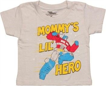 Transformers Mommy's Lil' Hero Optimus Prime Toddler T-Shirt