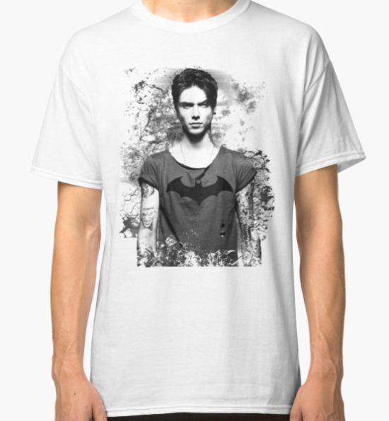 Andy Biersack Contrast Classic T-Shirt by Itsjustrob T-Shirt