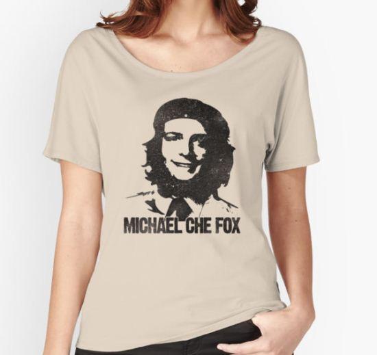 Michael Che Fox Women's Relaxed Fit T-Shirt by BeanePod T-Shirt