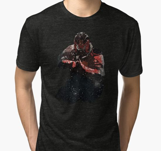 Dredd: Underbelly Tri-blend T-Shirt by giantevilgods T-Shirt