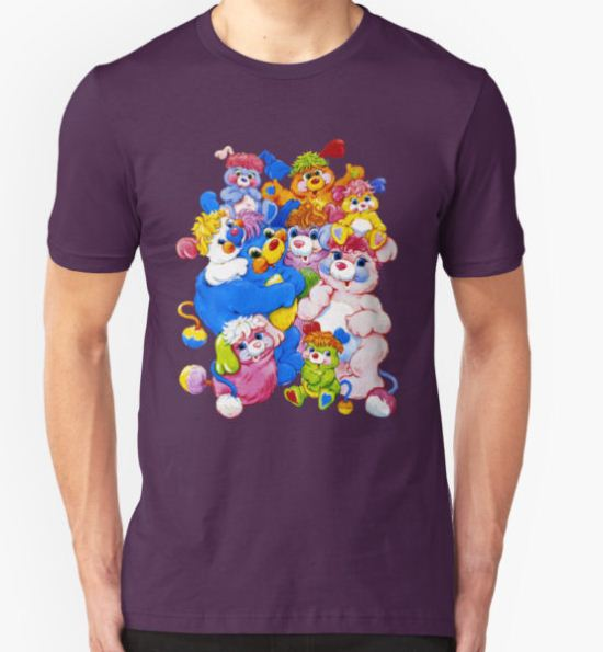Popples - Group - Color T-Shirt by DGArt T-Shirt