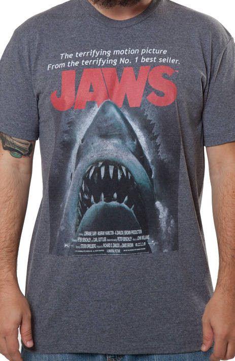 Jaws Poster Shirt