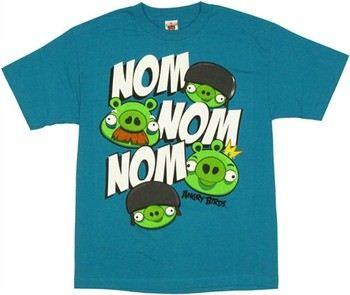 Angry Birds Pigs Nom Nom T-Shirt