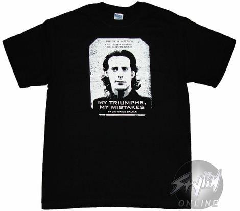 Battlestar Galactica Prisoner Notes T-Shirt