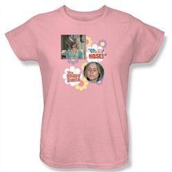 The Brady Bunch Ladies Pink T-Shirt