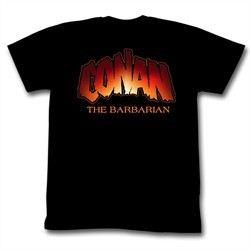 Conan Shirts New Logo Adult Black Tee T-Shirt