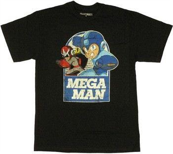 Mega Man Proto Man Duo T-Shirt