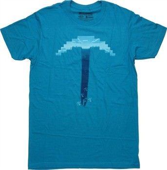 Minecraft Pickaxe T-Shirt