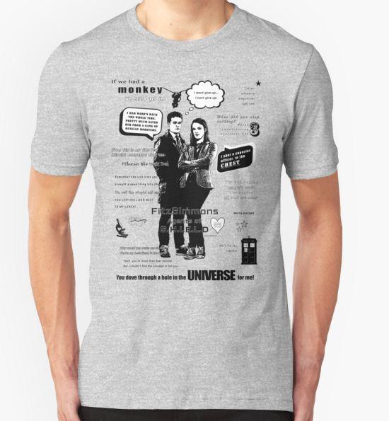'FitzSimmons' T-Shirt by DakaraJayne T-Shirt