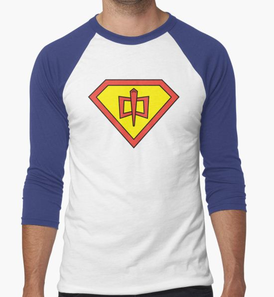 The Greatest Kryptonian-American Hero T-Shirt by TheOuterZone T-Shirt