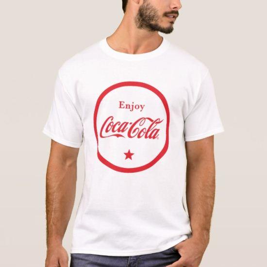 Enjoy Coca-Cola Badge T-Shirt