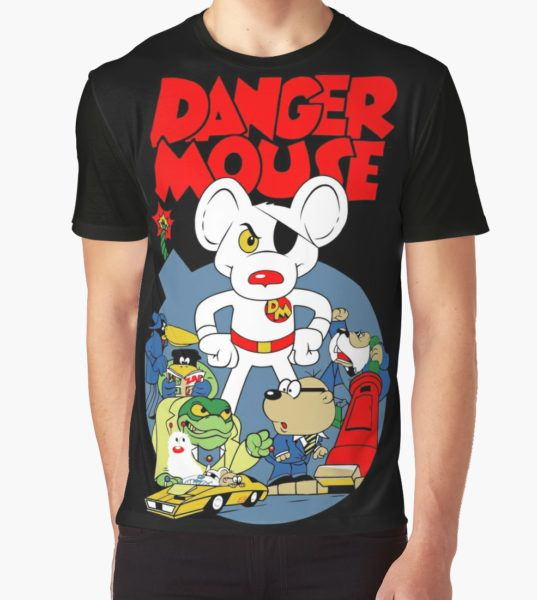 Danger Mouse And Ganks Graphic T-Shirt by TessSuarez T-Shirt