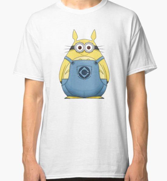 Minion Totoro Classic T-Shirt by crabro T-Shirt