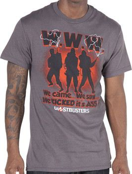 We Came We Saw Ghostbusters Shirt