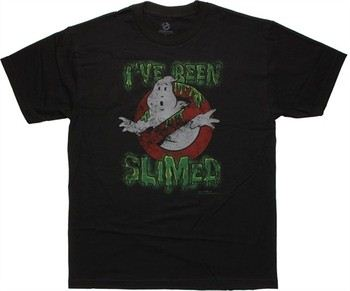 Ghostbusters I've Been Slimed T-Shirt Sheer