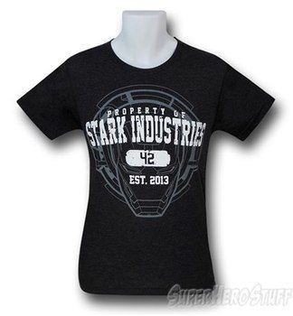Iron Man Property of Stark 30 Single T-Shirt