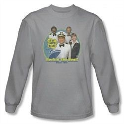 The Love Boat Shirt Rocking The Boat Long Sleeve Silver Tee T-Shirt