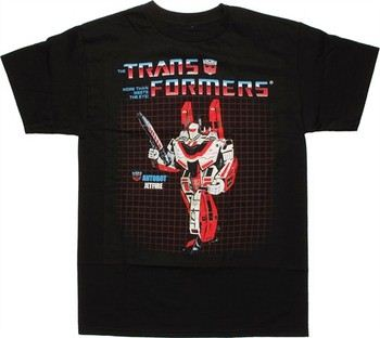 Transformers Jetfire G1 Box Art T-Shirt