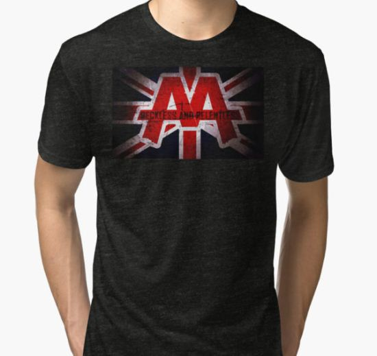 asking alexandria Tri-blend T-Shirt by bengisulak T-Shirt