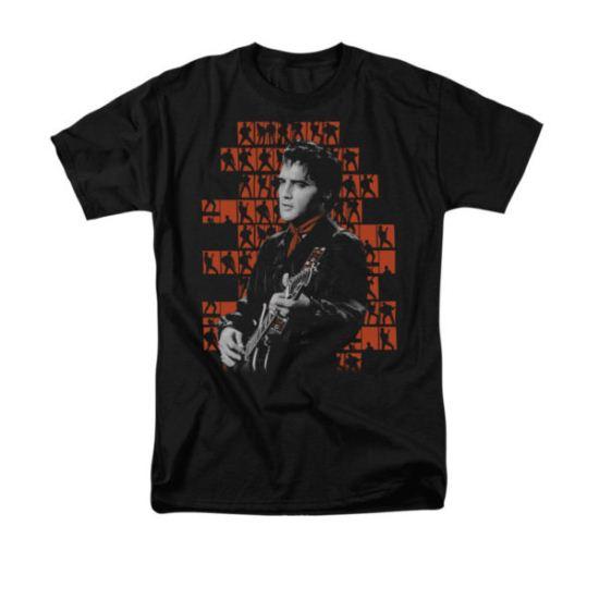 Elvis Presley Shirt 1968 Black T-Shirt