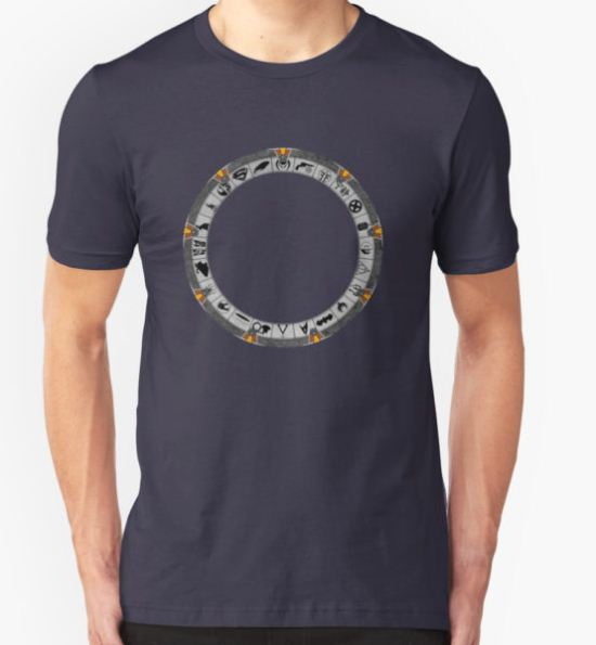 OmniGate (no text version) T-Shirt by MarkAlmighty T-Shirt