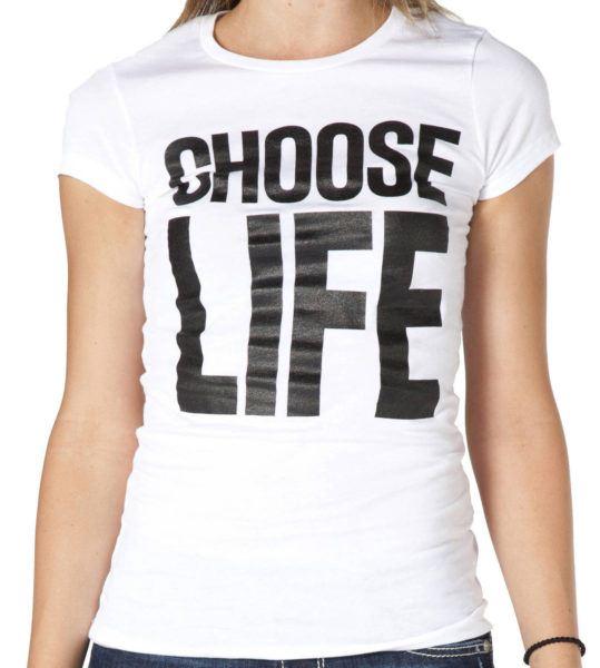 Ladies Choose Life Shirt