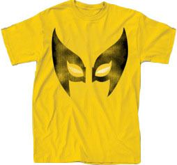 Simple Wolverine Eyes Adult Yellow T-Shirt