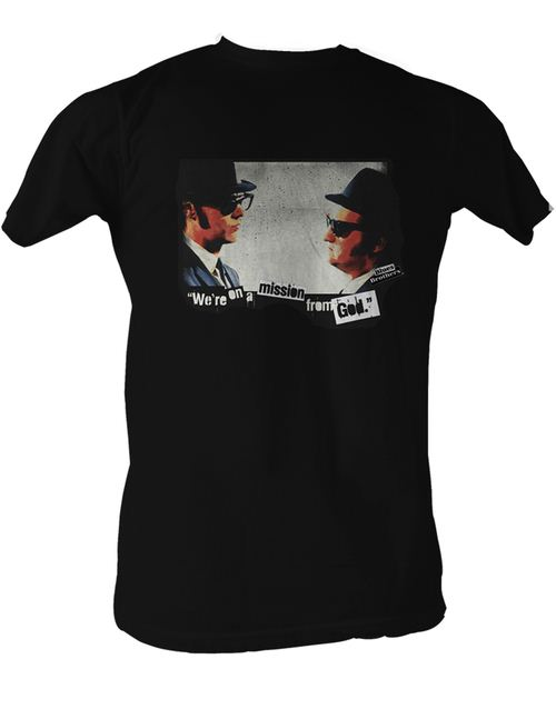 Blues Brothers Mission From God T-shirt