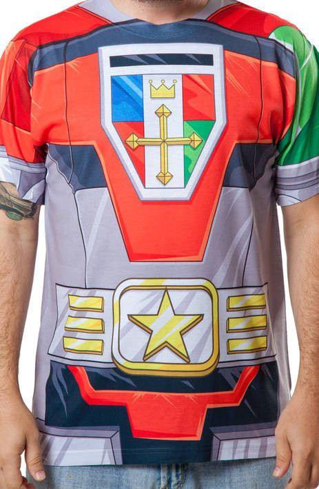 Voltron Sublimated Costume Shirt