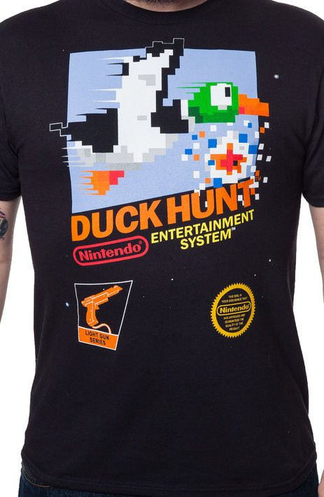 Nintendo Duck Hunt Shirt