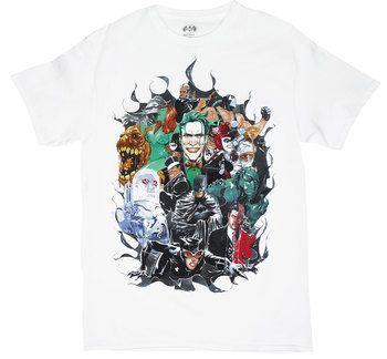 Watercolor Batman - DC Comics T-shirt