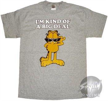 Garfield I'm Kind of a Big Deal T-Shirt