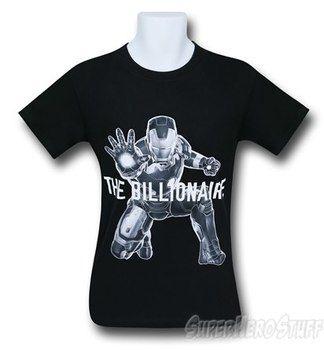 Iron Man Avengers Age of Ultron Billionaire T-Shirt